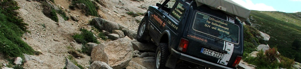roadbookshop.de - Roadbooks, Offroad-Touren, Zubeh�r